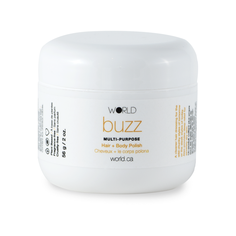 WORLD Buzz Hair & Body Polish