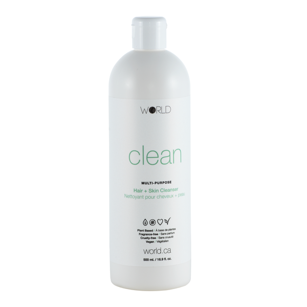 WORLD Clean Hair + Skin Cleanser
