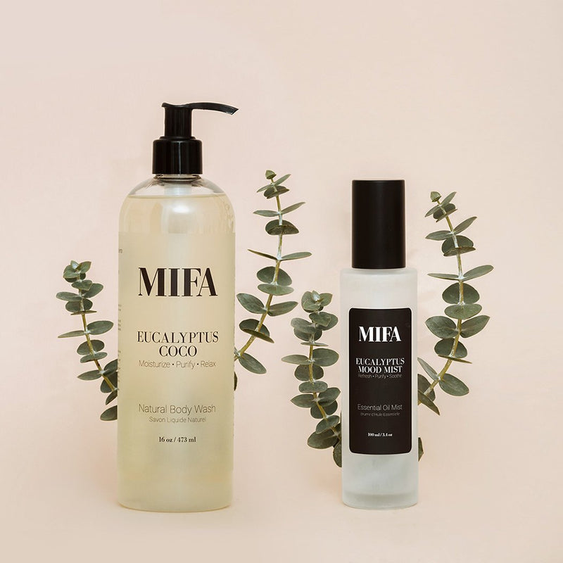 MIFA and Co. Eucalyptus Aromatherapy Duo ($73 VALUE)