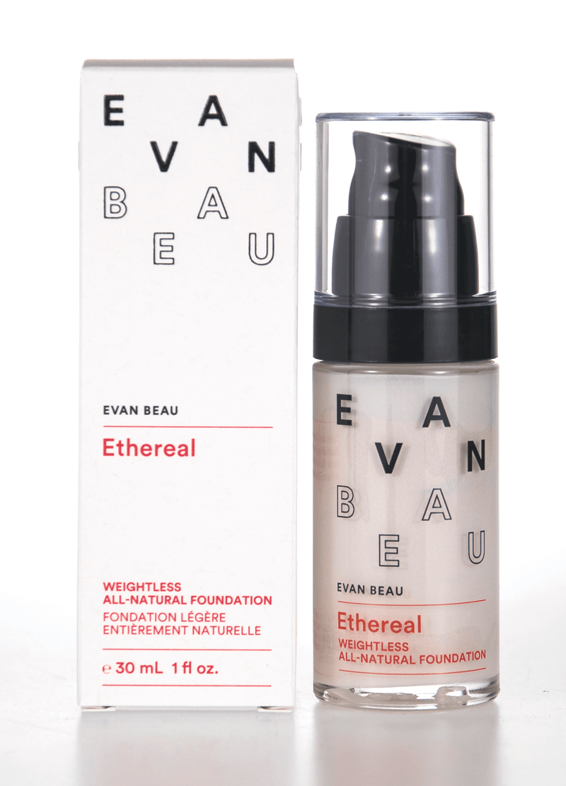 EVAN BEAU ETHEREAL ALL NATURAL FOUNDATION ~ 5.0