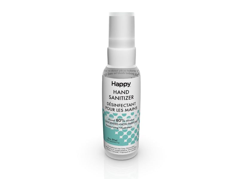 Happy Hand Sanitizer Spray - Unscented 59 ml