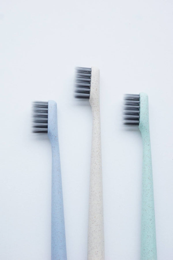 Happy Biodegradable Charcoal Toothbrush