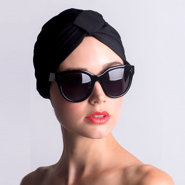 LOUVELLE Amelie Shower Cap Black