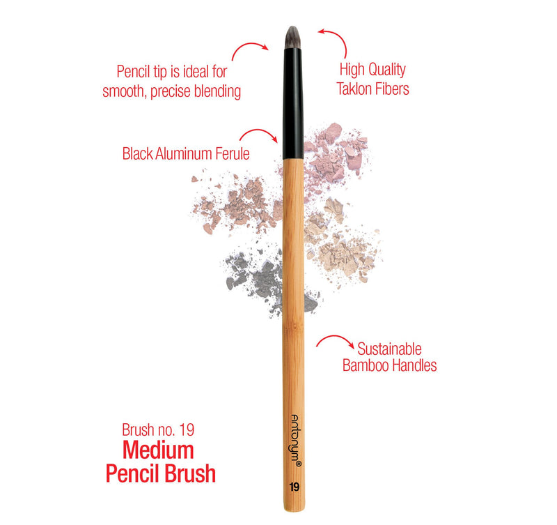 Antonym Cosmetics Vegan Medium Pencil Brush #19