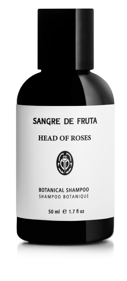 TRAVEL size - Sangre de Fruta Botanical Shampoo Head of Roses