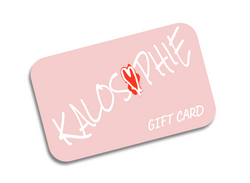 Shop KALOSOPHIE - Gift Card