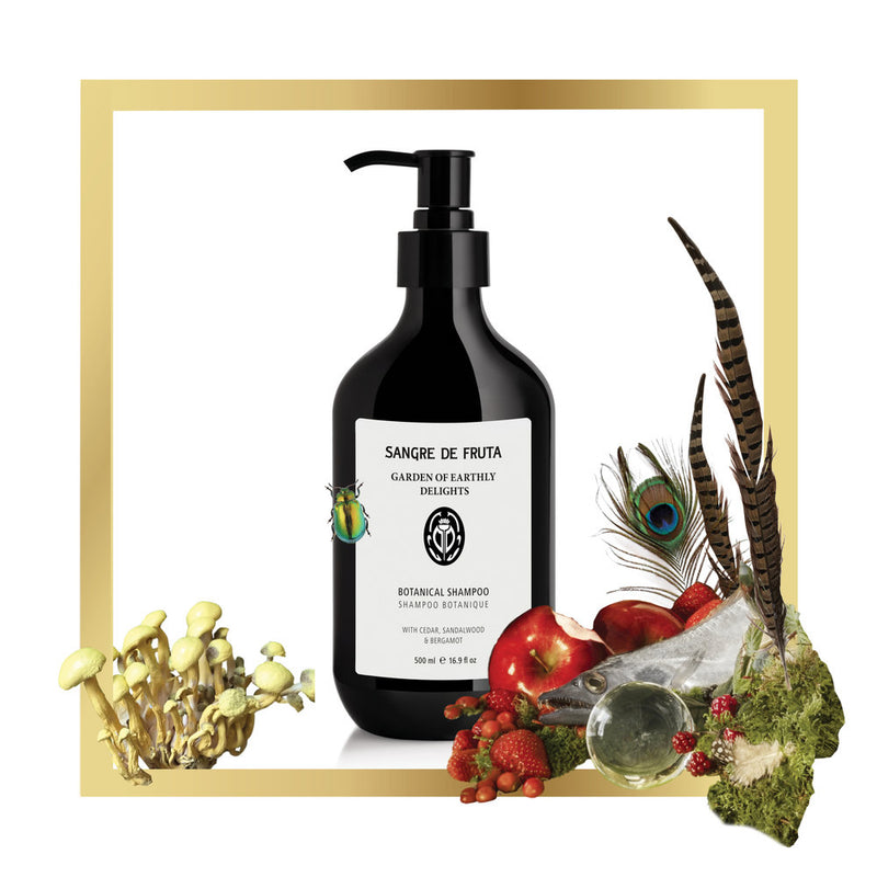 Sangre de Fruta Botanical Shampoo ~ Garden of Earthly Delights