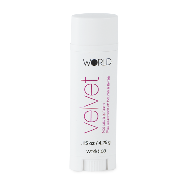 WORLD Velvet Not Just a Lip Balm