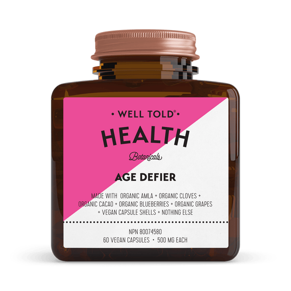 Well Told Health Botanicals Age Defier