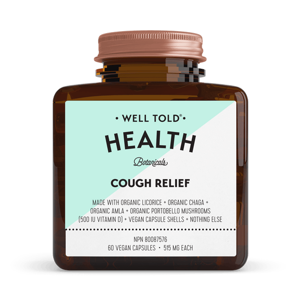 Well Told Health Botanicals Cough Relief