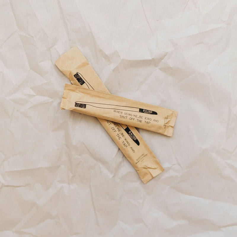 BKIND Biodegradable Bamboo Toothbrush - Kids