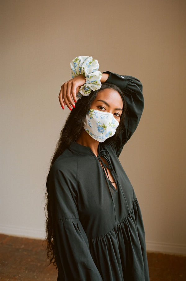 Bronze Age Oversized Cotton Scrunchie + Mask Combo