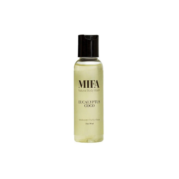MIFA Eucalyptus Coco Body Wash Traveler