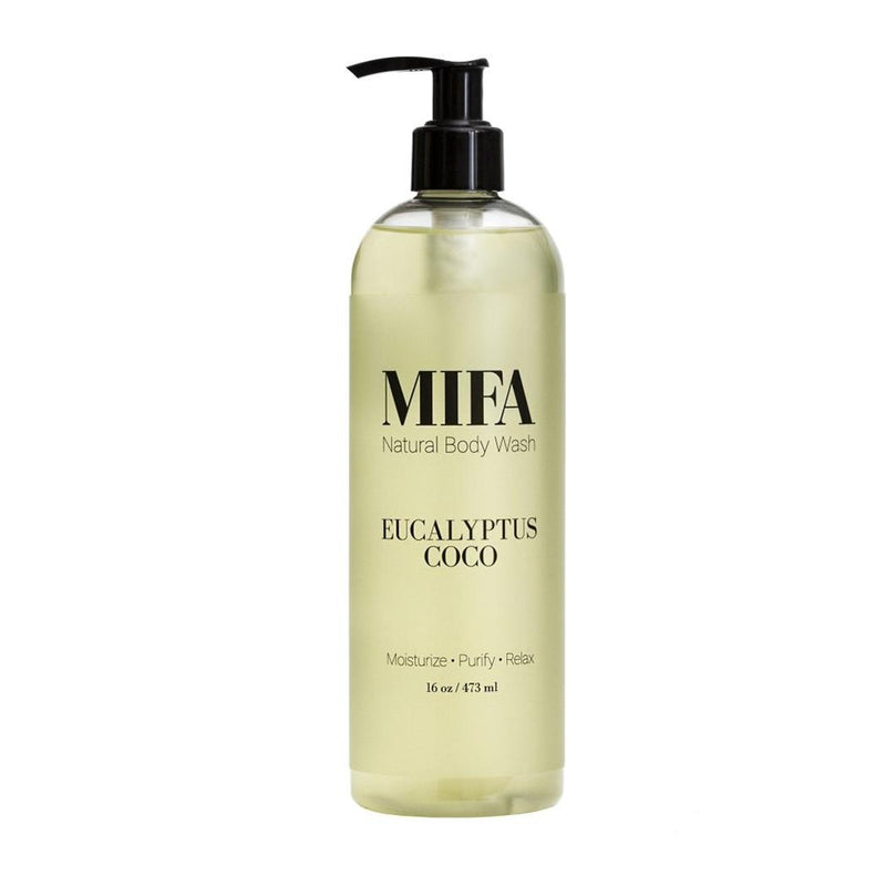 MIFA Eucalyptus Coco Body Wash 16 oz
