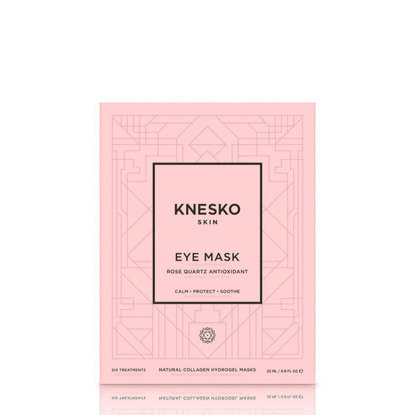 KNESKO SKIN ROSE QUARTZ ANTIOXIDANT COLLAGEN EYE MASK (6 TREATMENTS)