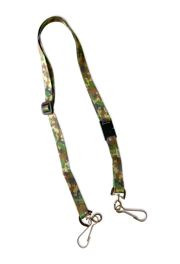 Happy Adjustable Lanyard ~ Camouflage