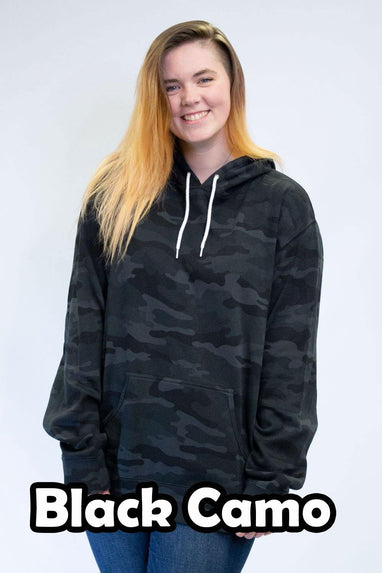 Black Camo Hoodies - Unisex