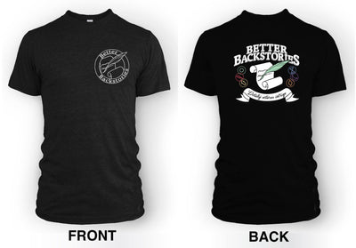 Better Backstories Scroll (color) - Men's Tee