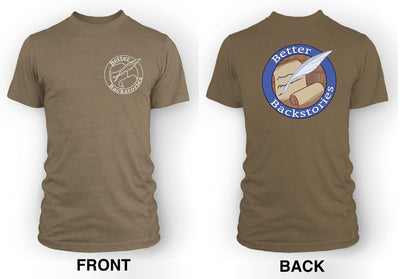 Better Backstories Logo (color) - Men's Tee