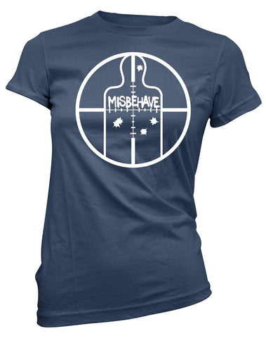 Aim to Misbehave -Women's Tee
