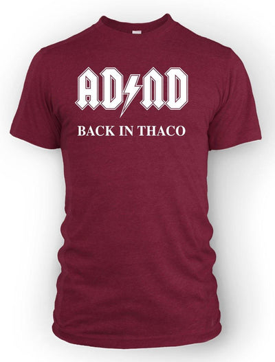 ADnD Back in THACO -Men's Tee