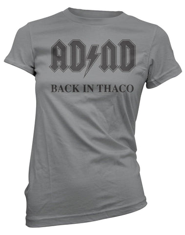 ADnD Back in THACO -Women's Tee