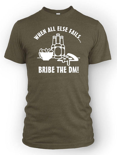 Bribe the DM -Men's Tee