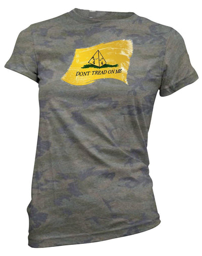 Don't Tread on Me (d4)  -Women's Tee