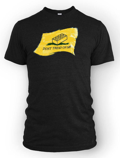 Don't Tread on Me (Lego)  -Men's Tee