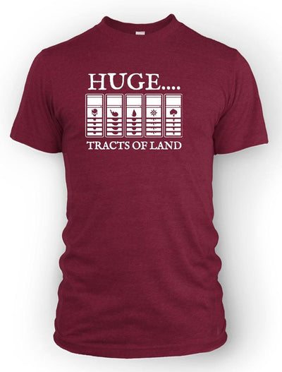 Huge Tracts of Land -Men's Tee
