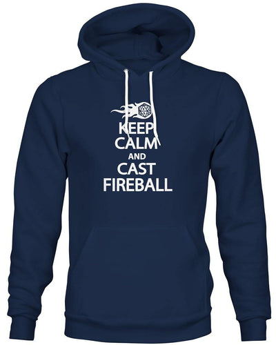 Keep Calm and Cast Fireball -Hoodie