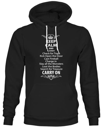 Keep Calm and Listen... -Hoodie