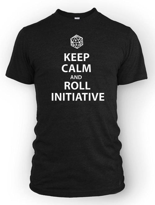 Keep Calm and Roll Initiative -Men's Tee