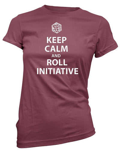 Keep Calm and Roll Initiative -Women's Tee