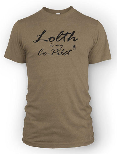 Lolth is my Co-Pilot -Men's Tee