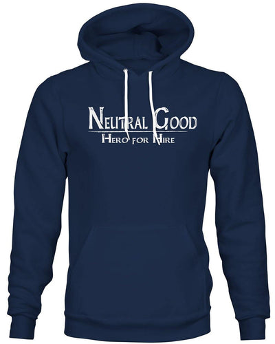 Neutral Good: Hero for Hire -Hoodie
