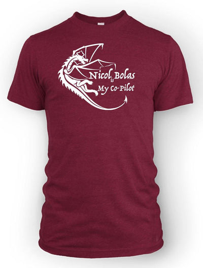 Nichol Bolas is my Co-pilot -Men's Tee