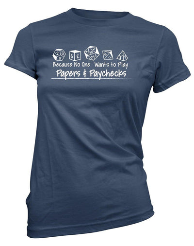 Papers and Paychecks -Women's Tee