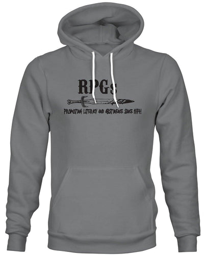 RPGs Literacy & Abstinence-Hoodie