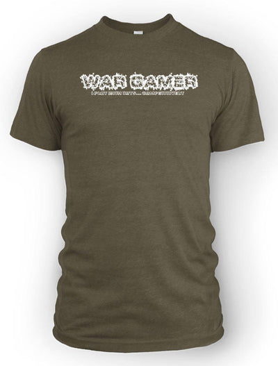Wargamer: I Play with Toys... Competitively -Men's Tee