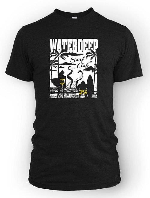 Waterdeep Surf Club -Men's Tee