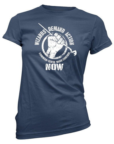 Wizards Demand Action -Women's Tee