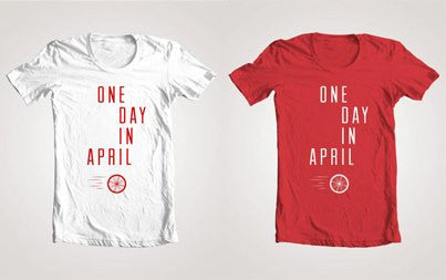 One Day In April T Shirt
