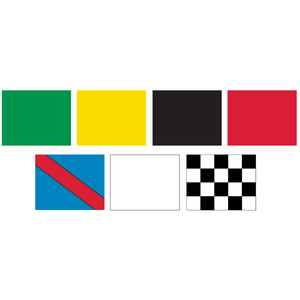 Racing Flag Set