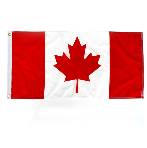 Knit Polyester Canada Flag