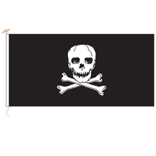 Load image into Gallery viewer, Jolly Roger Flag