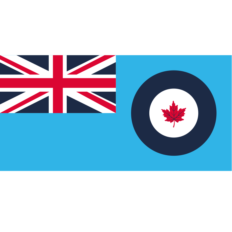 Royal Canadian Air Force Flag