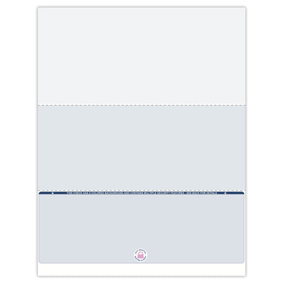 Bottom Format Blank Check Paper - Check Depot
