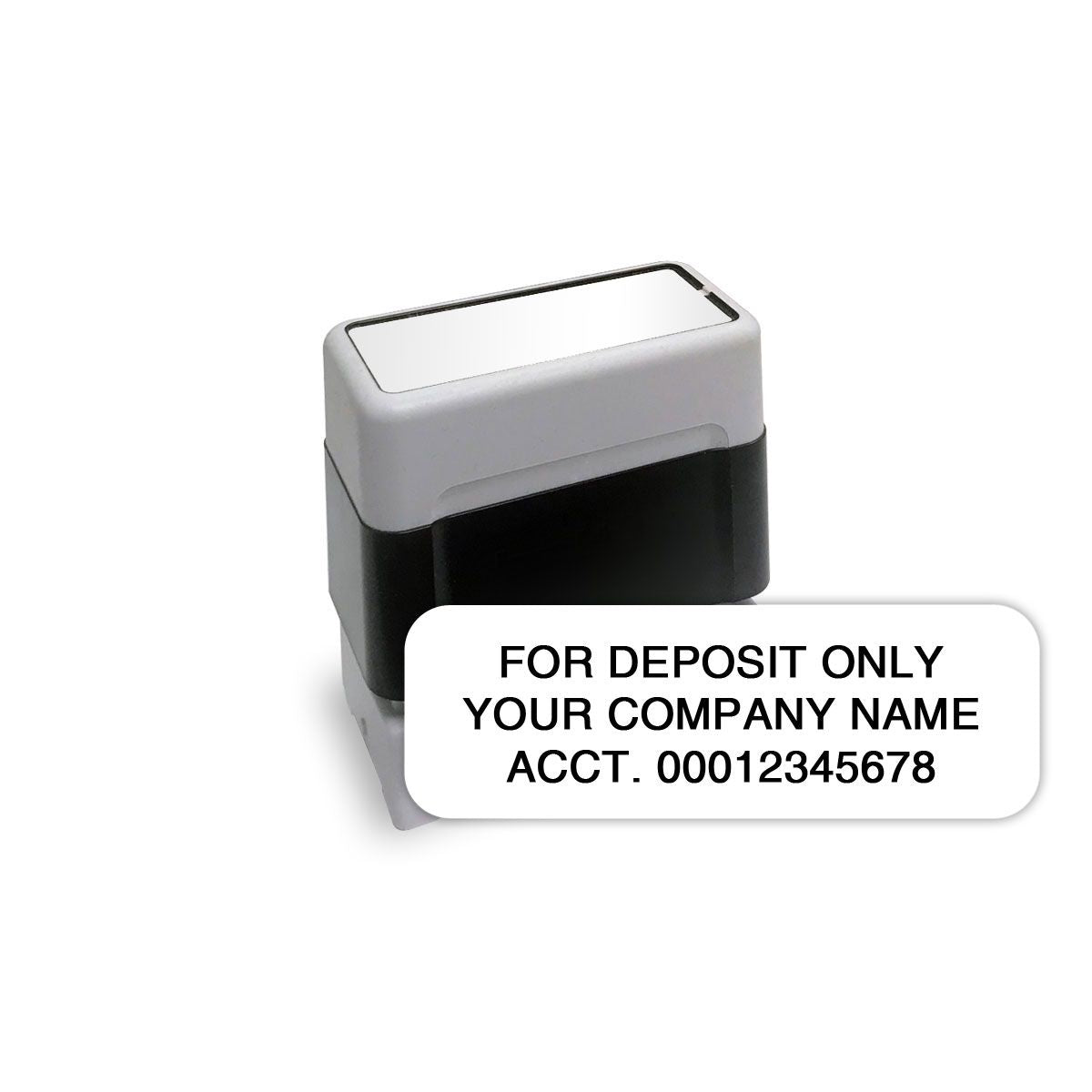 Self-Inking Endorsement Stamp, Small - Check Depot