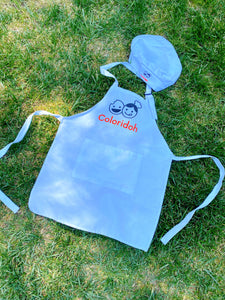 Kid's chef hat & apron / S size